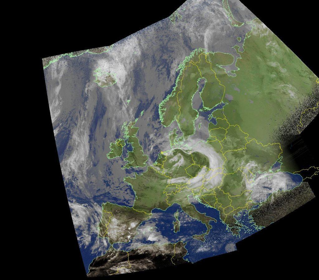 weersatelliet afbeelding