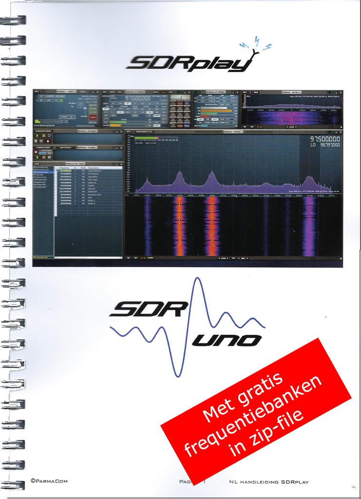 Boek SDRplay en SDRuno
